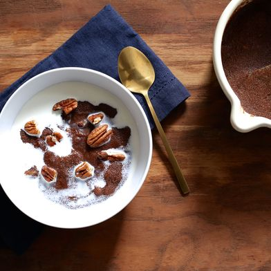 Teff Porridge with Pecans, Dates, and Honey