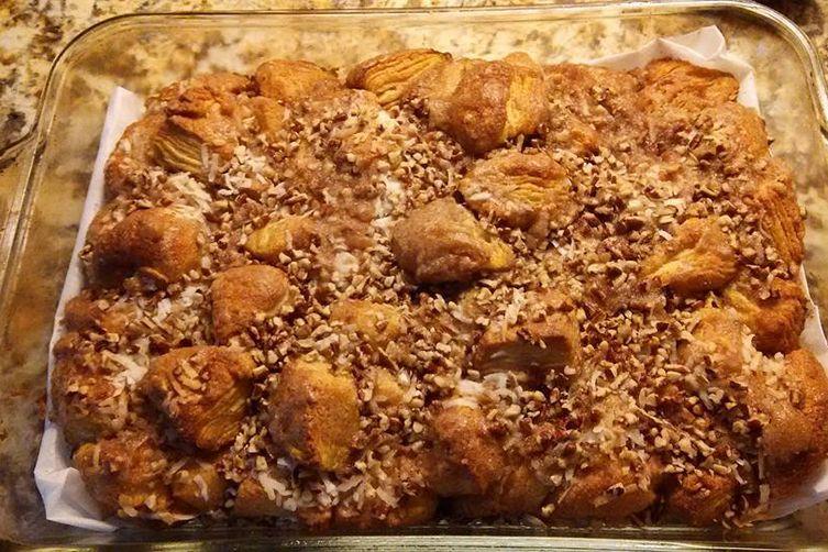 Imah's Easy Tropical Monkey Bread