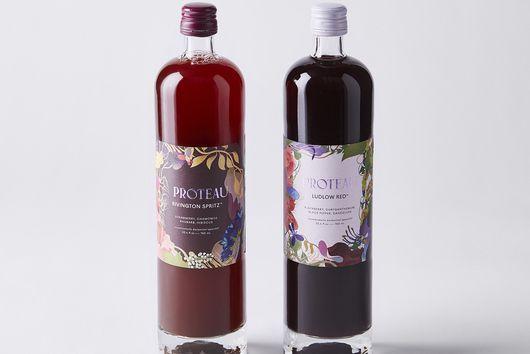 Proteau Zero-Proof Botanical Drinks, Set of 2