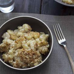 Macaroni and Cheese - (Maccheroni al Gratin)