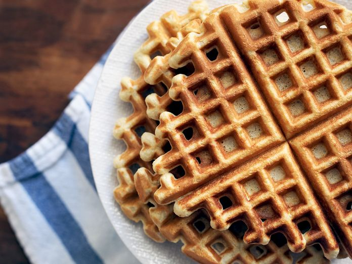 A Sort of Sweet, Sort of Savory, Multipurpose Waffle Recipe