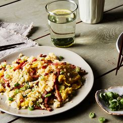 Bacon & Egg Fried Cauliflower Rice