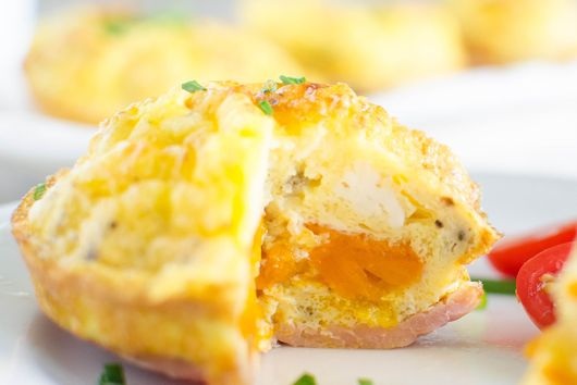 Bacon n' Egg Pepper Muffins
