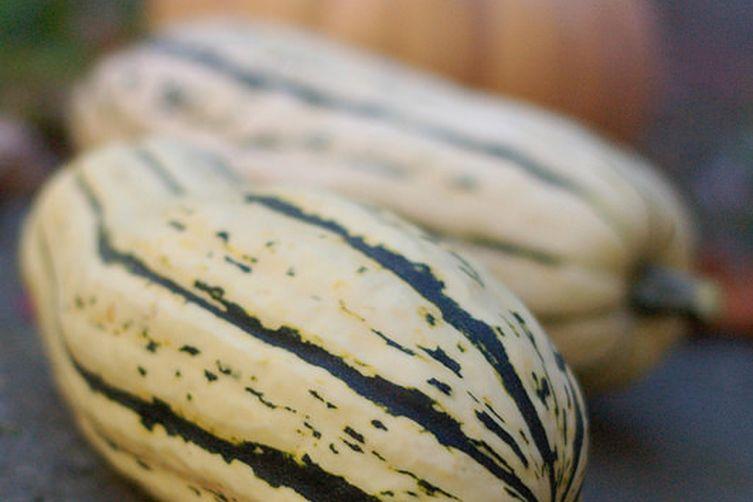 Sage & Nut-Stuffed Delicata Squash