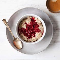 My Weekday Morning Rice Pudding