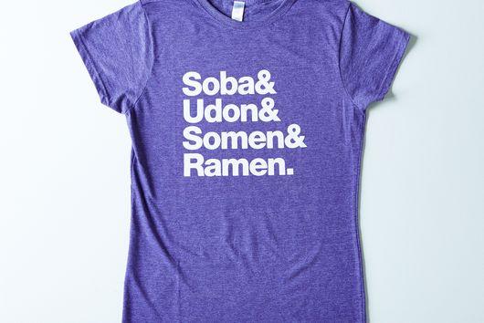 Helvetica Noodle Women's T-Shirt
