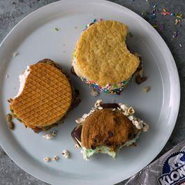Ice Cream Sandwich Party: A DIY Dessert Course