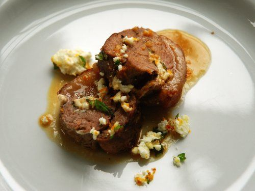 thirschfeld's test of gluttonforlife's Crispy Stuffed Lamb Belly with Blood Orange Sauce