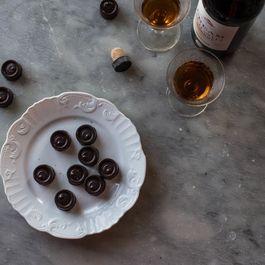 Homemade Italian Coffee-Filled Chocolates