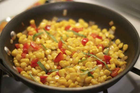Summer Corn Salad (inspired by Ina Garten's Confetti Corn Salad)