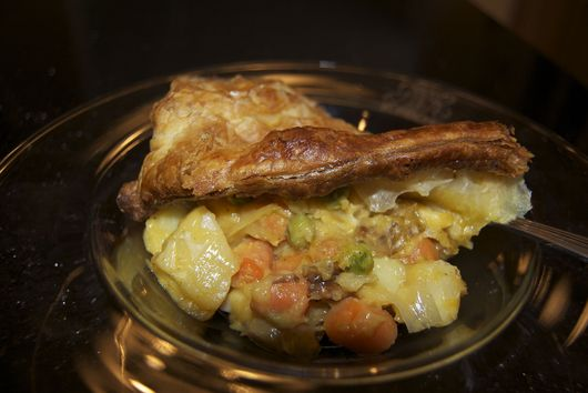 Butternut Squash Pot Pie