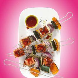 CHA! BBQ Glazed Grilled Salmon