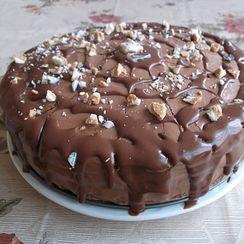 """Prague"" Cake with Chocolate-Hazelnut  Buttercream"
