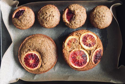 Earl Grey Masa Olive Oil Muffins