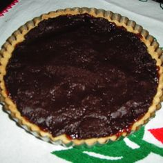 Bittersweet Chocolate Truffle Tart