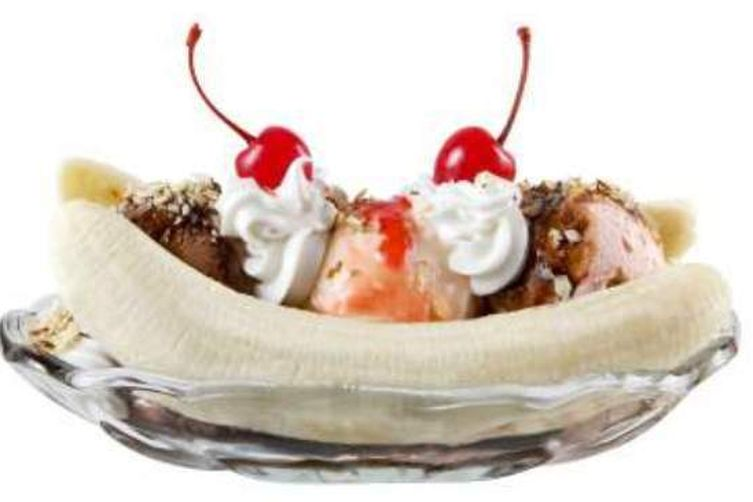 Banana Split Sundaes