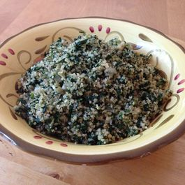 Spinach and Bulgur Mix