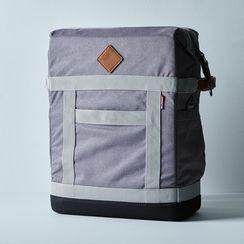 OLD Nylon & Leather Backpack Cooler