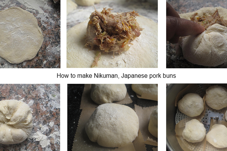 Nikuman - Japanese steamed buns