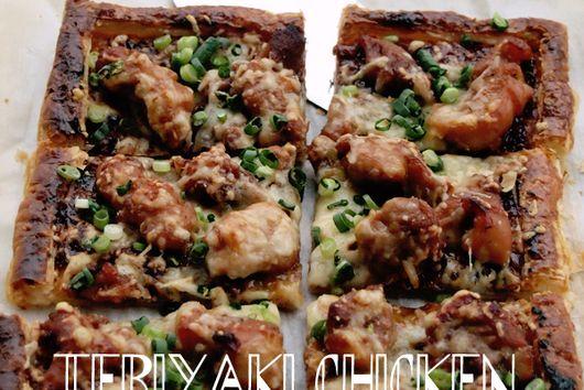 Teriyaki Chicken Tart