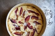 Ricotta and Plum Tartlets