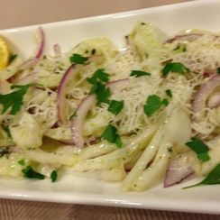 Fennel and Parmesan Salad