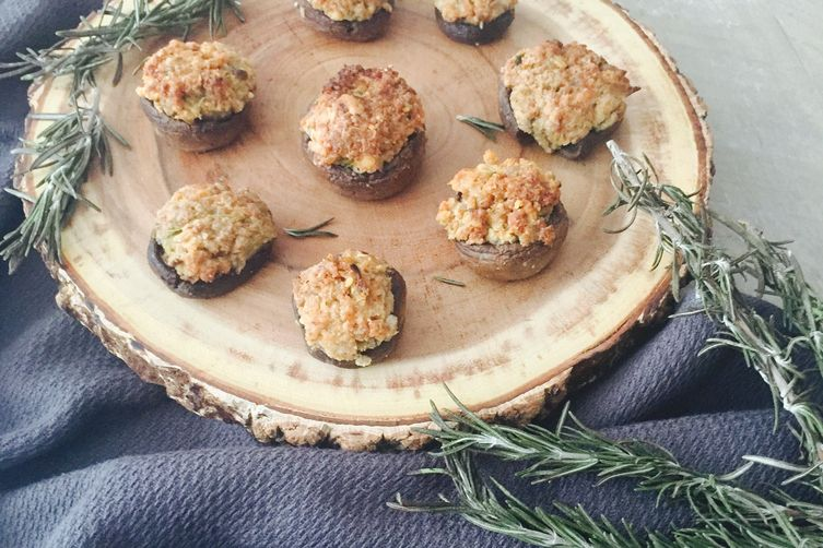 Nonna Gina's Stuffed Mushrooms