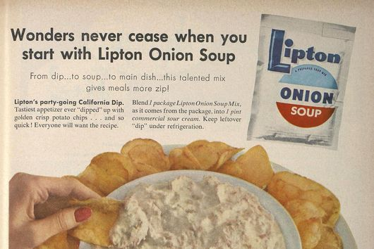 The Astronomical Success Story of Lipton Onion Soup Mix