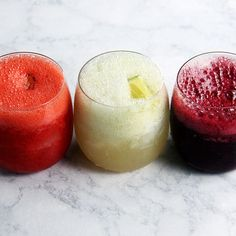 Red, White, and Blue Paloma Slushies