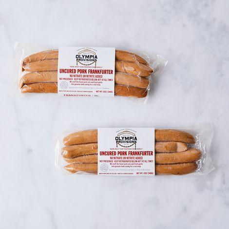 Olympia Provisions Artisanal Frankfuter Sausage (24oz.)