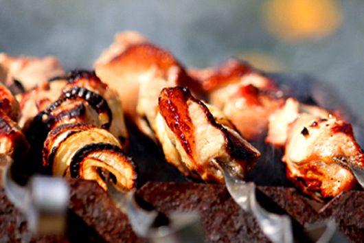 Summer Beef Kebabs