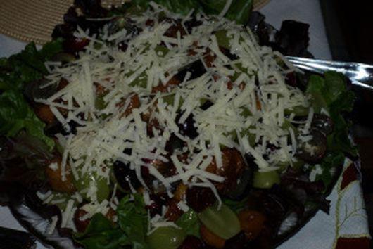 Fig and Grape Salad
