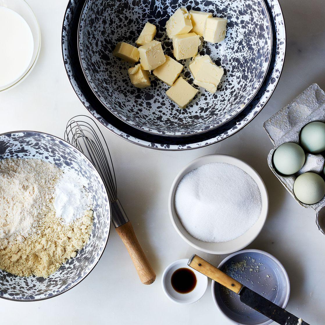 grey splatter enamel nesting mixing bowls set of 3 on food52