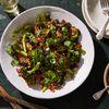 Spicy Miso Eggplant & Broccoli Salad, From Deliciously Ella