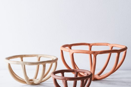 Nested Coil Prong Bowls