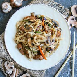 Ginger Mushroom & Chicken Stir Fry