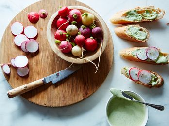 Radish Top Aioli: Your New Favorite Spring Condiment