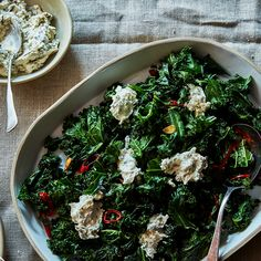 Ottolenghi Puts Onion Dip in His Kale and It's Genius