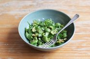 Sicilian Green Olive Salad