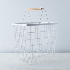 Steel & Ash Laundry Basket