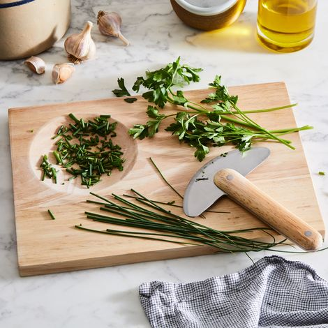 Herb Chopper & Chopping Board Set