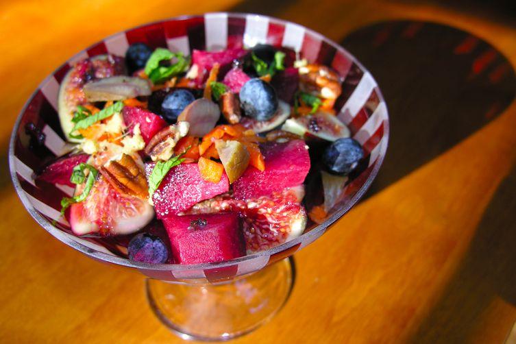 A Charoset-inspired sweet relish