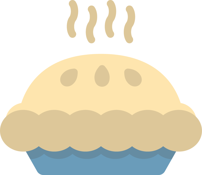 Here is the actual pie emoji icon we submitted in our proposal, mocked up by our designer Tim McSweeney.