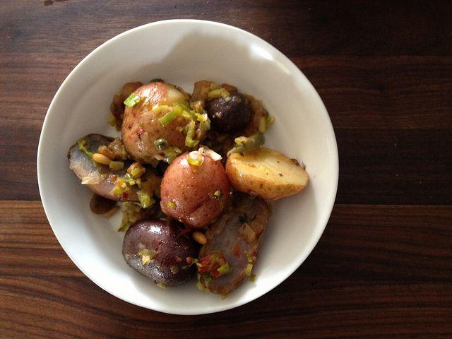 Caponata Potato Salad from Food52