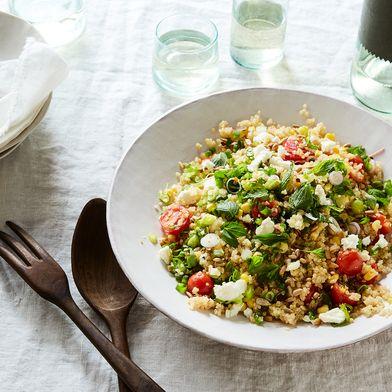 One-Pot Corn, Tomato & Quinoa Pilaf