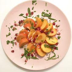 Persimmon & Whipped Feta Salad