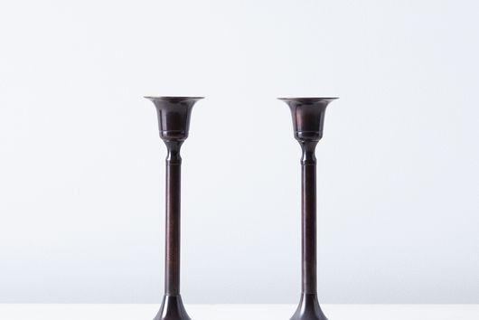 Food52 Vintage-Inspired Brass Candlesticks (Set of 2)