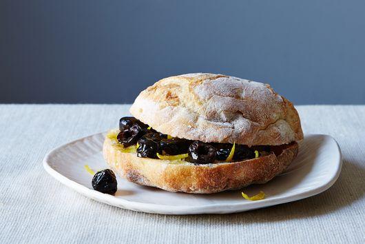 Viana La Place's Umbrian Black Olive Panino