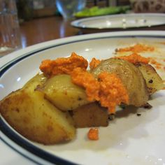 Patatas Bravas with Romesco Sauce