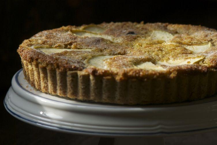 Apple and Prune Farmhouse Tart